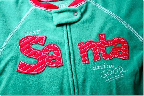 dear santa define good sleeper