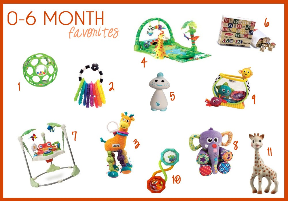 Toys For 6 Months : Toys for month old babies