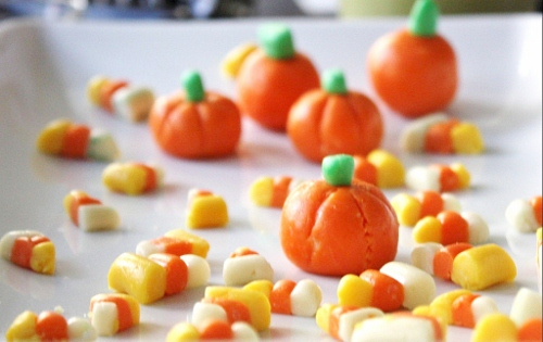 homemade halloween pumpkin candy