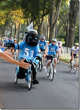 sir purr bike ride