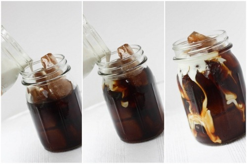 how to make iced coffee without milk
