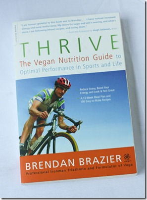 thrive vegan nutrition guide by brendan brazier