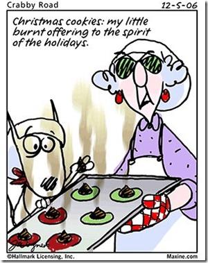 holiday eating - Holiday Cartoon Images