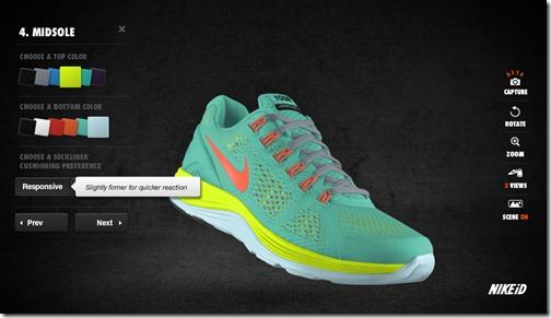 nike personalized running shoes