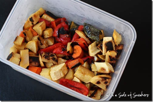 preroasted veggies