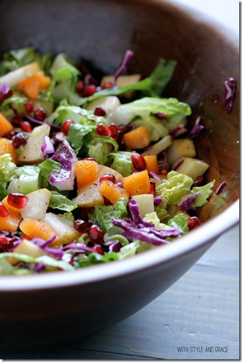 winter chopped salad