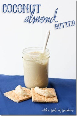 homemade coconut almond butter recipe