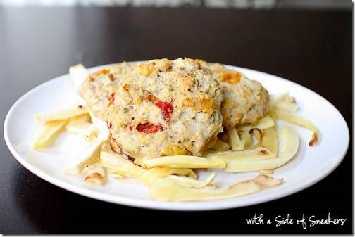 how to make sweet potato patties
